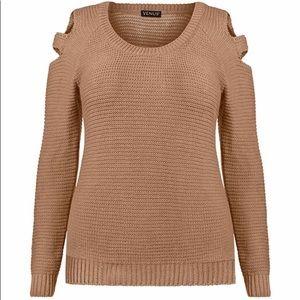 Women's Venus Cold Shoulder Sweater